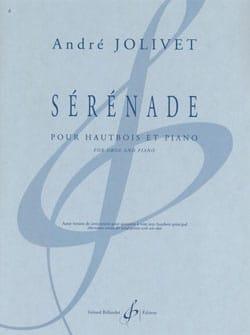 Sérénade - André Jolivet - Partition - Hautbois - laflutedepan.com