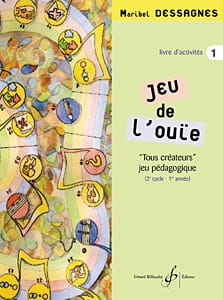 Jeu de l'ouïe - Elève - Volume 1 Marybel Dessagnes laflutedepan