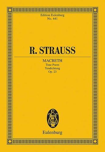 Macbeth, op. 23 - Richard Strauss - Partition - laflutedepan.com