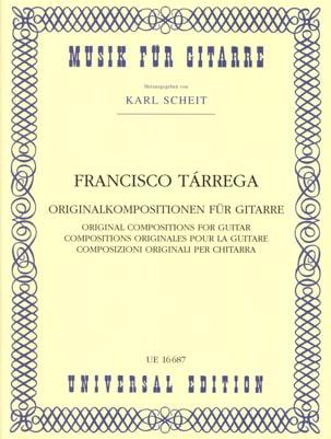 Originalkompositionen für Gitarre TARREGA Partition laflutedepan