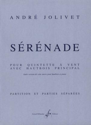 Sérénade - Parties + Conducteur André Jolivet Partition laflutedepan