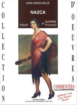 Nazca pour Guitare et Piano Erik Marchelie Partition laflutedepan