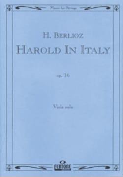 Harold en Italie op. 16 BERLIOZ Partition Alto - laflutedepan