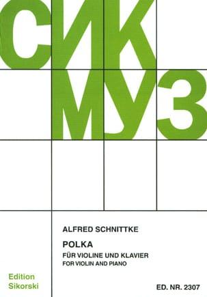 Polka SCHNITTKE Partition Violon - laflutedepan