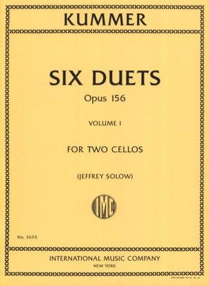 6 Duos Op. 156 Volume 1 - Friedrich-August Kummer - laflutedepan.com