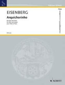 Arquichorinho - Alexander Eisenberg - Partition - laflutedepan.com