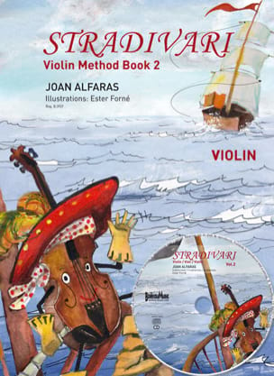 Stradivari violin, Vol. 2 Joan ALFARAS, Partition laflutedepan