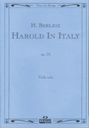 Harold en Italie op. 16 - BERLIOZ - Partition - laflutedepan.com
