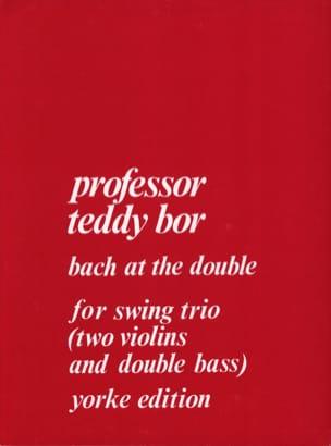 Bach at The Double for String Trio - Teddy Bor - laflutedepan.com