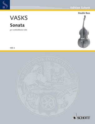 Sonata per contrebasso solo Peteris Vasks Partition laflutedepan
