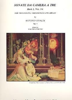 Sonata da Camera a Tre Op. 1 - Book 1 : N° 1-6 VIVALDI laflutedepan