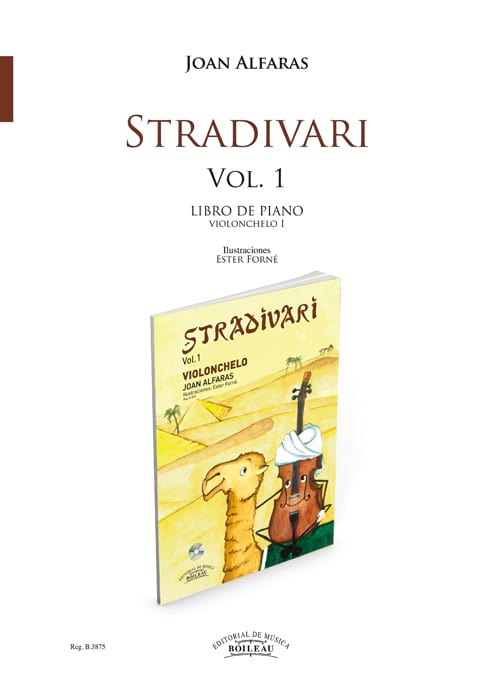 Stradivari Violoncelle 1 (Acct Piano) - laflutedepan.com