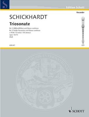 Triosonate e-moll op. 16 n° 10 - 2 Altblockflöten BC laflutedepan