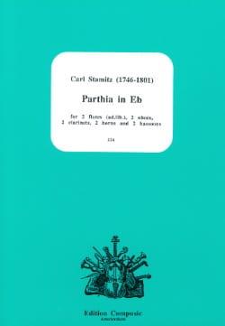 Carl Stamitz - Parthia In Eb Eb M - Dixtuor In Winds - Partition - di-arezzo.co.uk