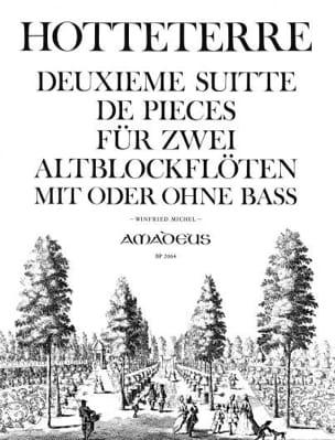 Deuxième Suite de Pièces Op. 6 - 2 Fl. A Bec Alto laflutedepan