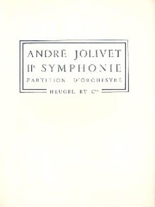 Symphonie n° 2 - André Jolivet - Partition - laflutedepan.com
