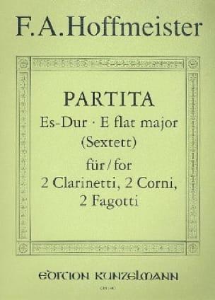 Partita Es-Dur - 2 Clarinetti 2 corni 2 fagotti - Stimmen - laflutedepan.com