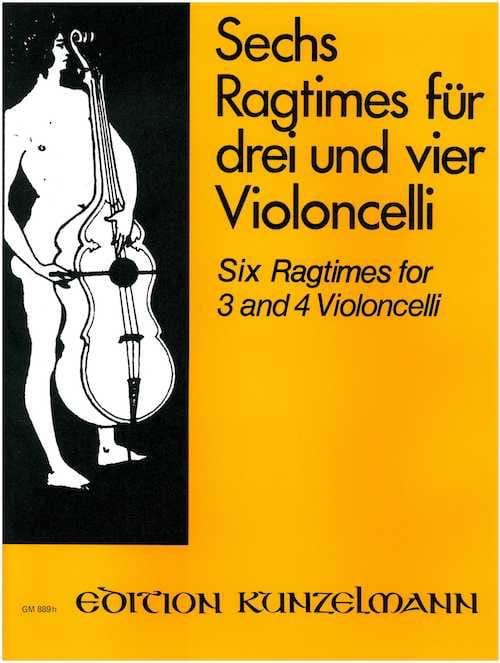 6 Ragtimes - Werner Thomas-Mifune - Partition - laflutedepan.com
