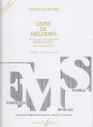 Livre de Mélodies Volume 7 - Supérieur - laflutedepan.com