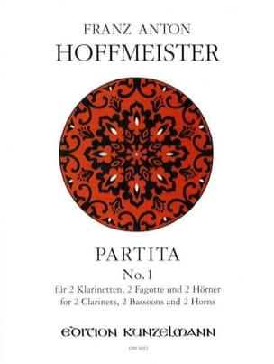 Partita N° 1 - 2 Klarinetten 2 Fagotte 2 Hörner laflutedepan