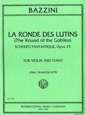 La Ronde des Lutins Opus 25 - Antonio Bazzini - laflutedepan.com