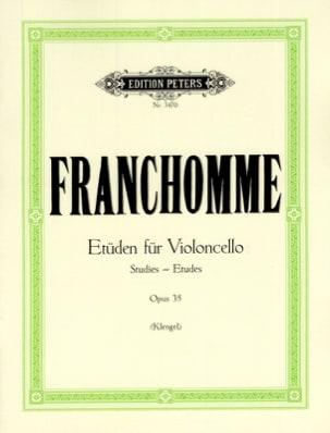 Etüden für Violoncello, op. 35 Auguste Franchomme laflutedepan