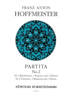 Partita N° 2 - 2 Klarinetten 2 Fagotte 2 Hörner - Stimmen laflutedepan