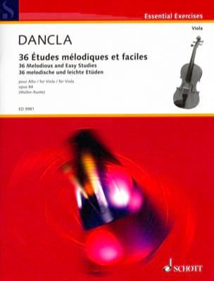 36 Etudes Mélodiques et Faciles Op.84 - Alto DANCLA laflutedepan