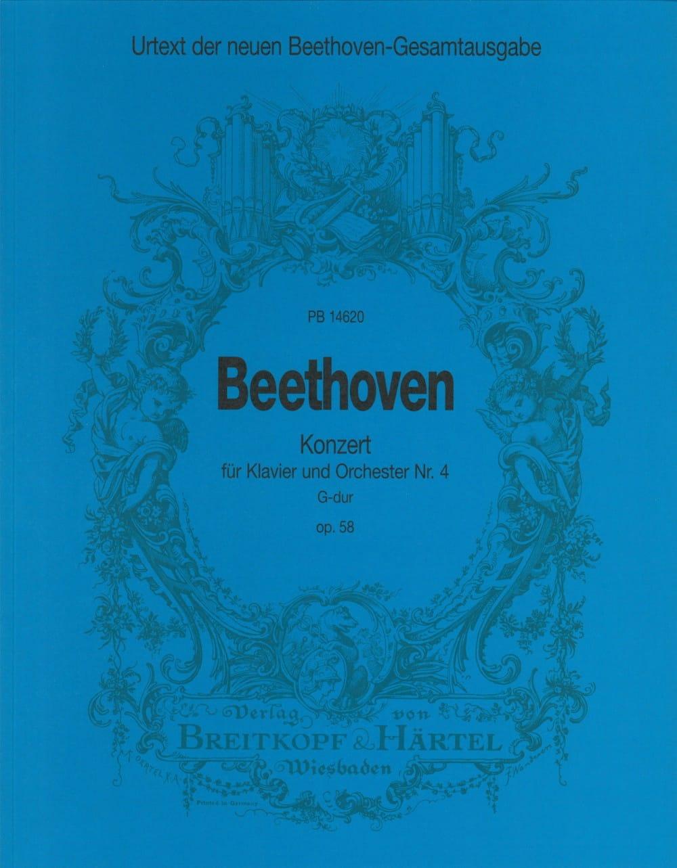 Klavierkonzert Nr. 4 G-Dur op. 58 -Partitur - laflutedepan.com