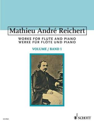 Sämtliche Werke für Flöte - Bd. 1 Mathieu André Reichert laflutedepan