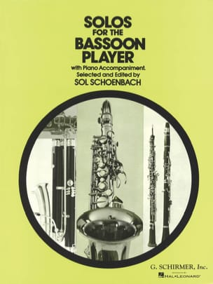 Solos for the Bassoon Player Sol Schoenbach Partition laflutedepan