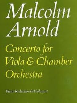 Concerto For Viola Malcolm Arnold Partition Alto - laflutedepan