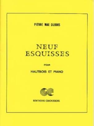 9 Esquisses - Pierre-Max Dubois - Partition - laflutedepan.com