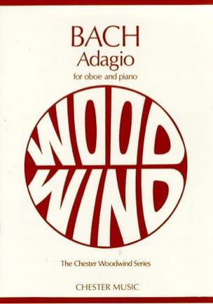 Adagio -Oboe piano BACH Partition Hautbois - laflutedepan
