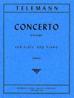 TELEMANN - Concerto In D Major - Partition - di-arezzo.co.uk