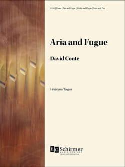 Aria et Fugue - David Conte - Partition - Violon - laflutedepan.com
