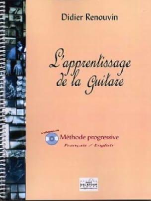 L' Apprentissage De la Guitare - Didier Renouvin - laflutedepan.com