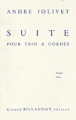 Suite pour trio à cordes - Conducteur André Jolivet laflutedepan