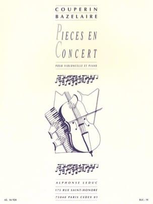 Couperin François / Bazelaire Paul - Concert pieces - Partition - di-arezzo.co.uk