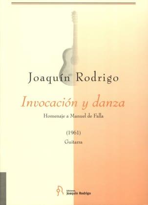 Invocacion y Danza RODRIGO Partition Guitare - laflutedepan