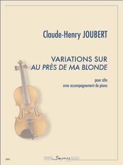 Variations sur Au près de ma blonde Claude-Henry Joubert laflutedepan