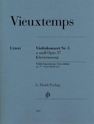Concerto pour violon n° 5, op. 37 - Violon et piano laflutedepan