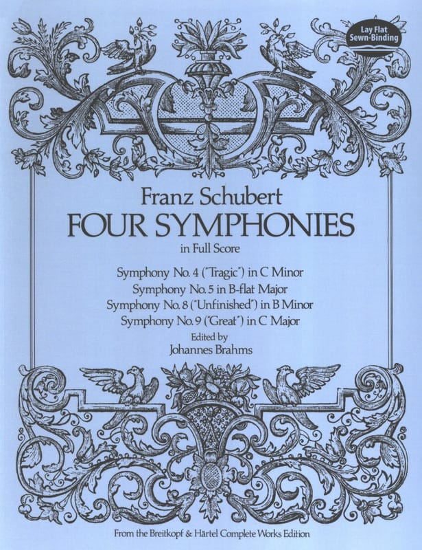 Four Symphonies - Conducteur - SCHUBERT - Partition - laflutedepan.com