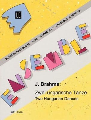 2 Ungarische Tänze -Bläser-Ensemble BRAHMS Partition laflutedepan