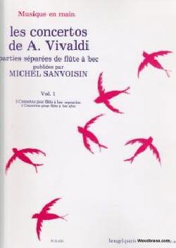 Concertos Vol 1 - Flûte A Bec Parties Sép. VIVALDI laflutedepan