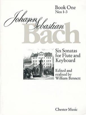6 Sonatas - Volume 1 - Flûte clavecin - BACH - laflutedepan.com
