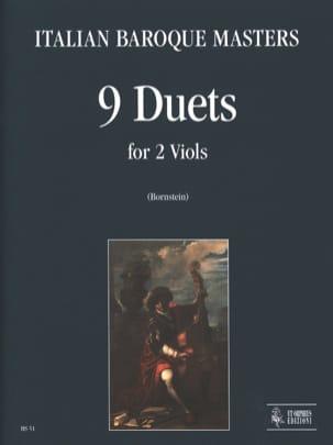 9 Duetti Per 2 Viole Da Gamba Auteurs Divers Partition laflutedepan