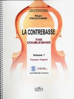 La Contrebasse Volume 1 Régis Prud'homme Partition laflutedepan