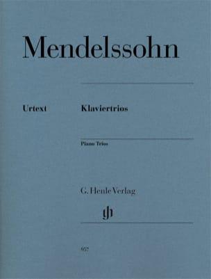 Trios - Violon, violoncelle et piano MENDELSSOHN laflutedepan