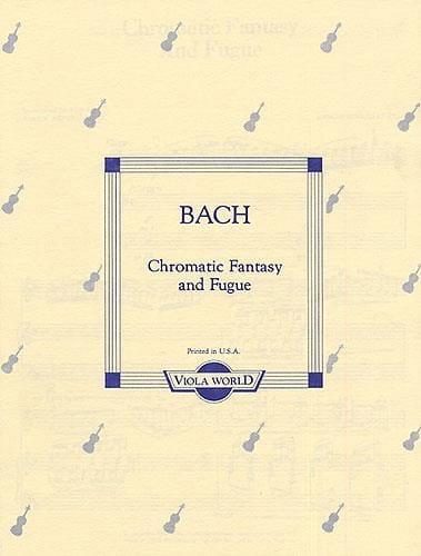 Chromatic Fantasy and Fugue - Viola - BACH - laflutedepan.com